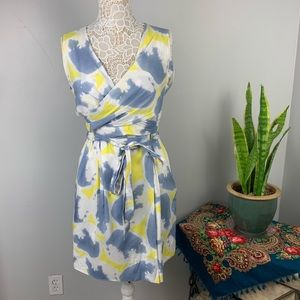 Diane von Furstenberg Carol Mini wrap dress